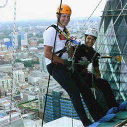 CTBUH Chairman Rappels for Charity