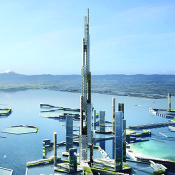 Next Tokyo 2045: A Mile-High Tower Rooted in Intersecting Ecologies