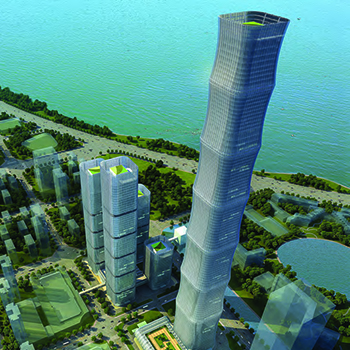 Designing a Bamboo Shaped Suptertall Tower in Hefei