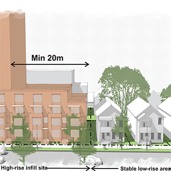 Urban Design Challenges with High-Rise Infill in Mature Neighborhoods?